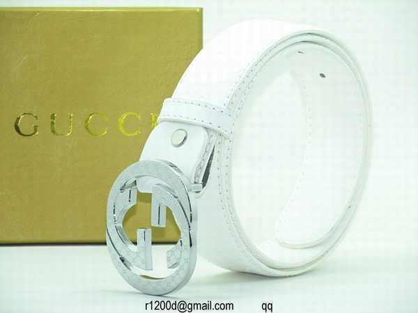 c307b58e7f885 ceinture gucci blanche homme
