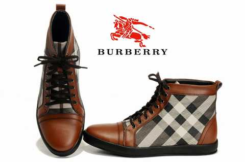 24c6e684bb0 Chaussures Burberry Homme