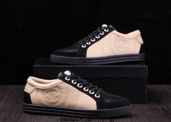 10f50b7bb7a chaussures beige et noir chanel
