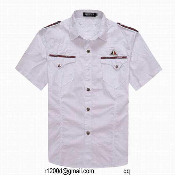 30EUR, chemise blanche gucci,chemises gucci discount,chemise gucci homme  prix 99687fb3e97