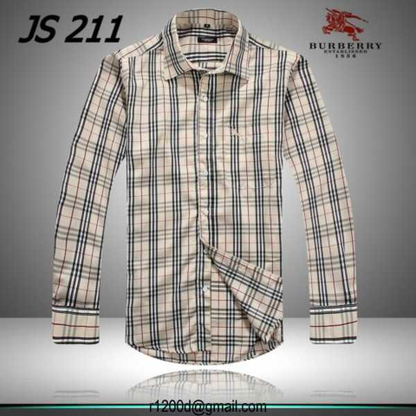 bec3dce9262 ... chemise burberry homme grande taille