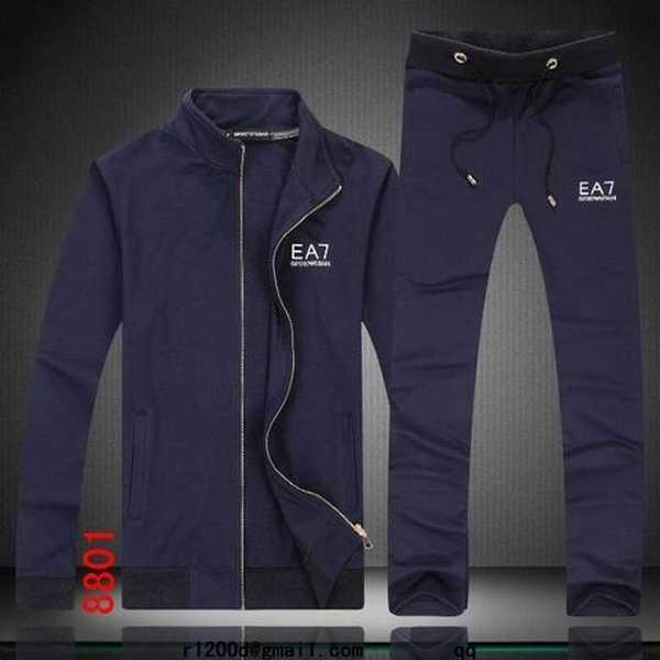 2453380a95 jogging armani ea7 bleu marine,vente de survetement ea7,survetement emporio  armani ea7