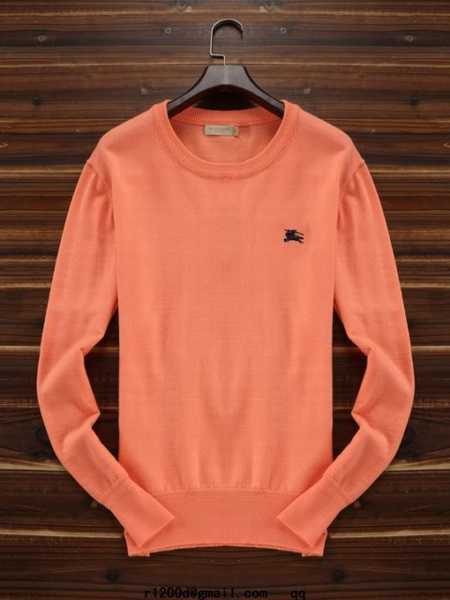 pull homme fluo
