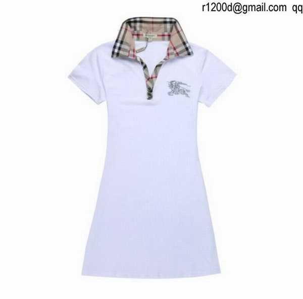 2d02f7ea778 robe blanche burberry
