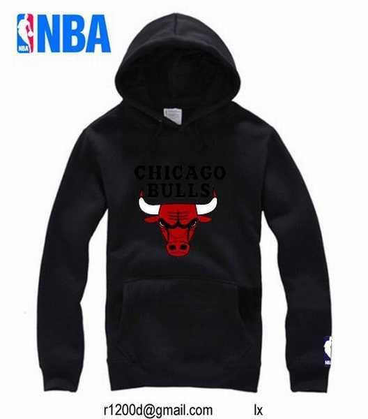 sweat a capuche chicago bulls,sweat nba grossiste,