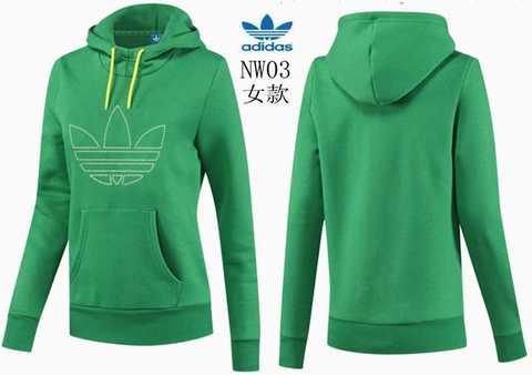 sweat adidas vert femme