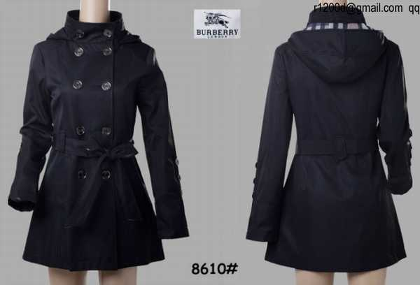 2232270053bda ... trench femme a capuche,trench burberry noir femme occasion,trench femme  burberry chine