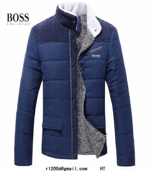 4229f731dc1 veste hugo boss bleu marine